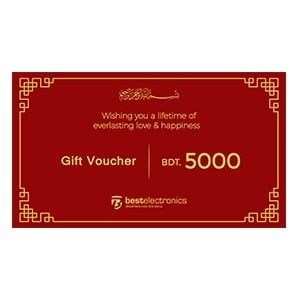 Best Electronics Gift Voucher of BDT 5000