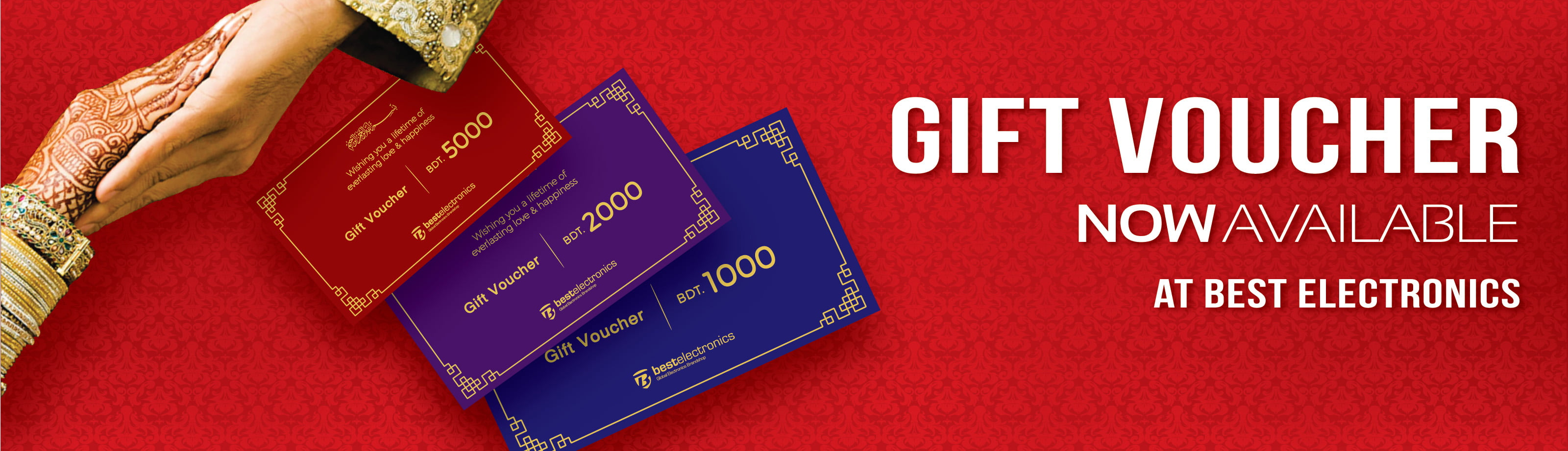 Best Electronics Gift Voucher