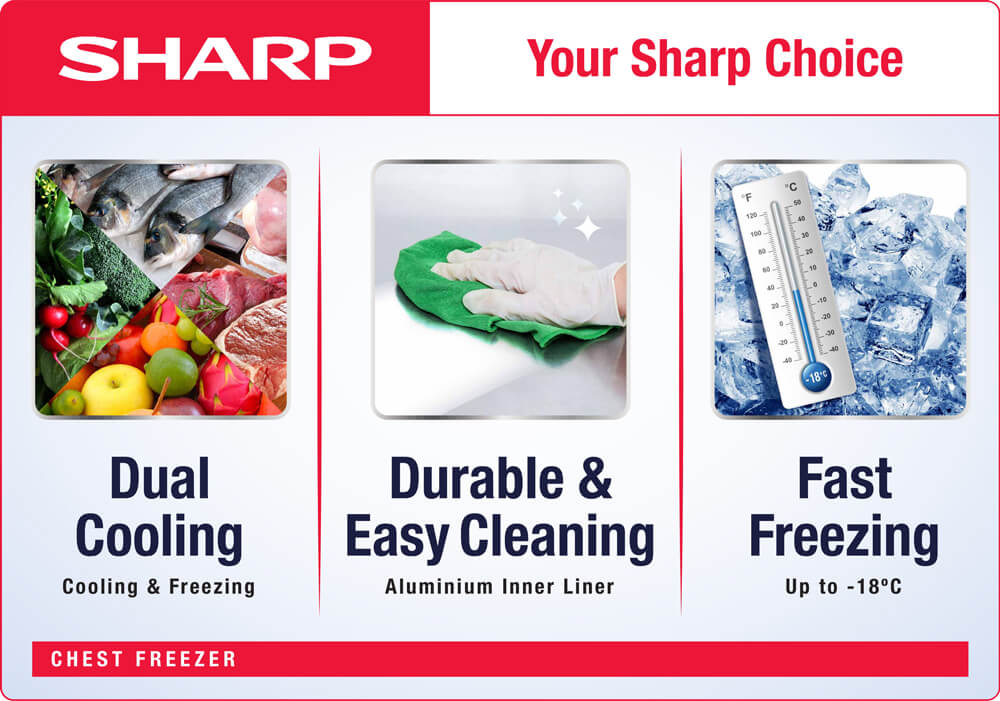 Sharp Chest Freezer