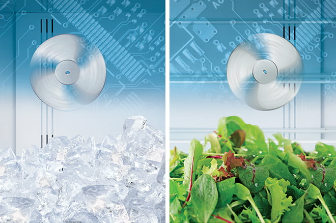Dual Fan Cooling