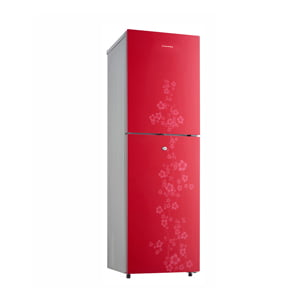 Conion Refrigerator BEK-195TMGB (Red)