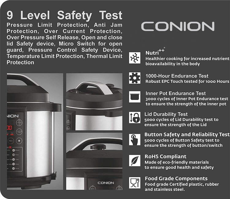 Conion Electric Pressure Cooker 3