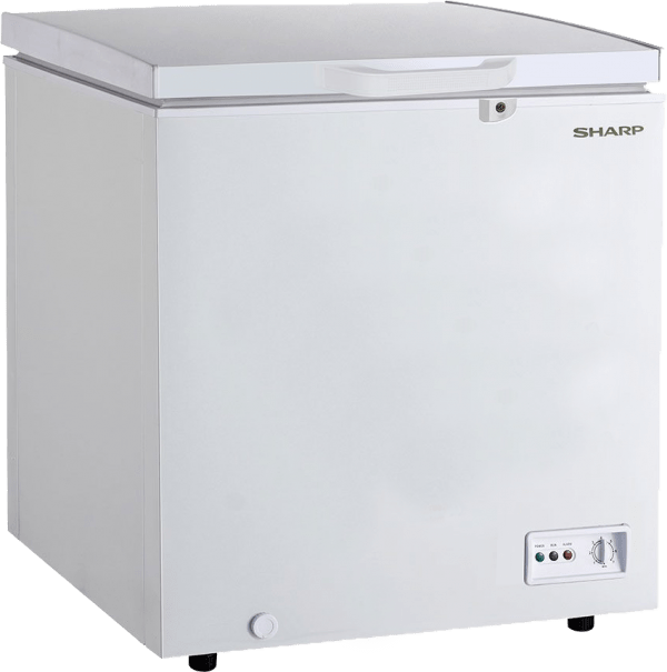 Sharp-Freezer-SJC-168-WH