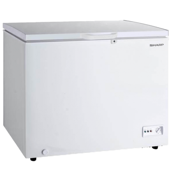 Sharp-Freezer-SJC-318-WH