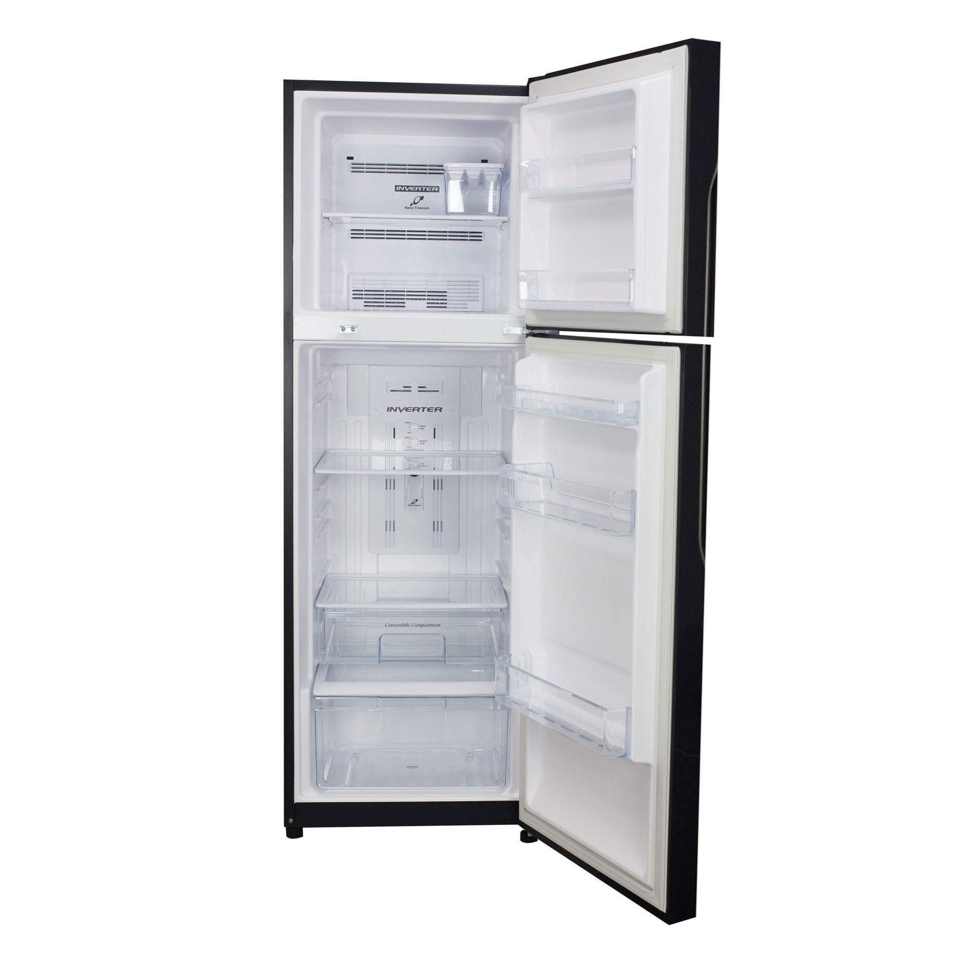 Hitachi Refrigerator R-H270P7PBK Inside