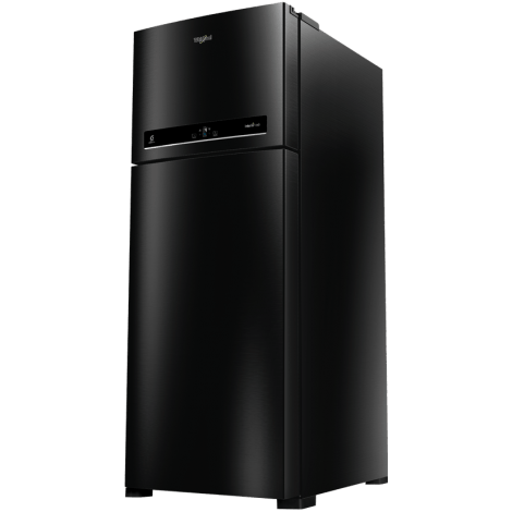 Whirlpool Refrigerator IF455 Caviar Black (3S) Side Image