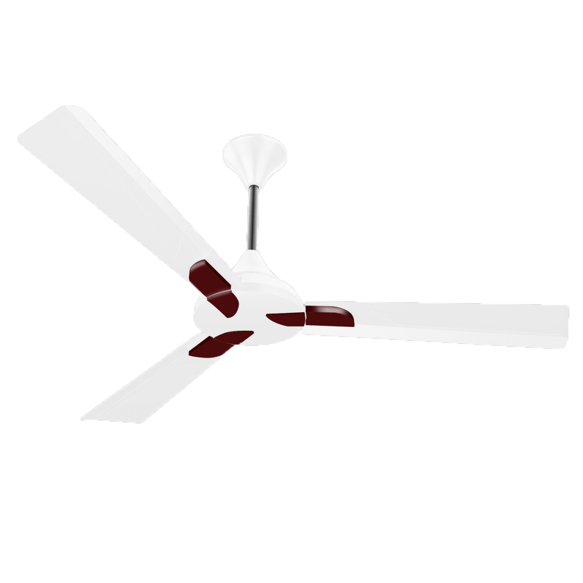 "Conion Ceiling Fan Alpha 56"" 3 Blades (Sterling White)"