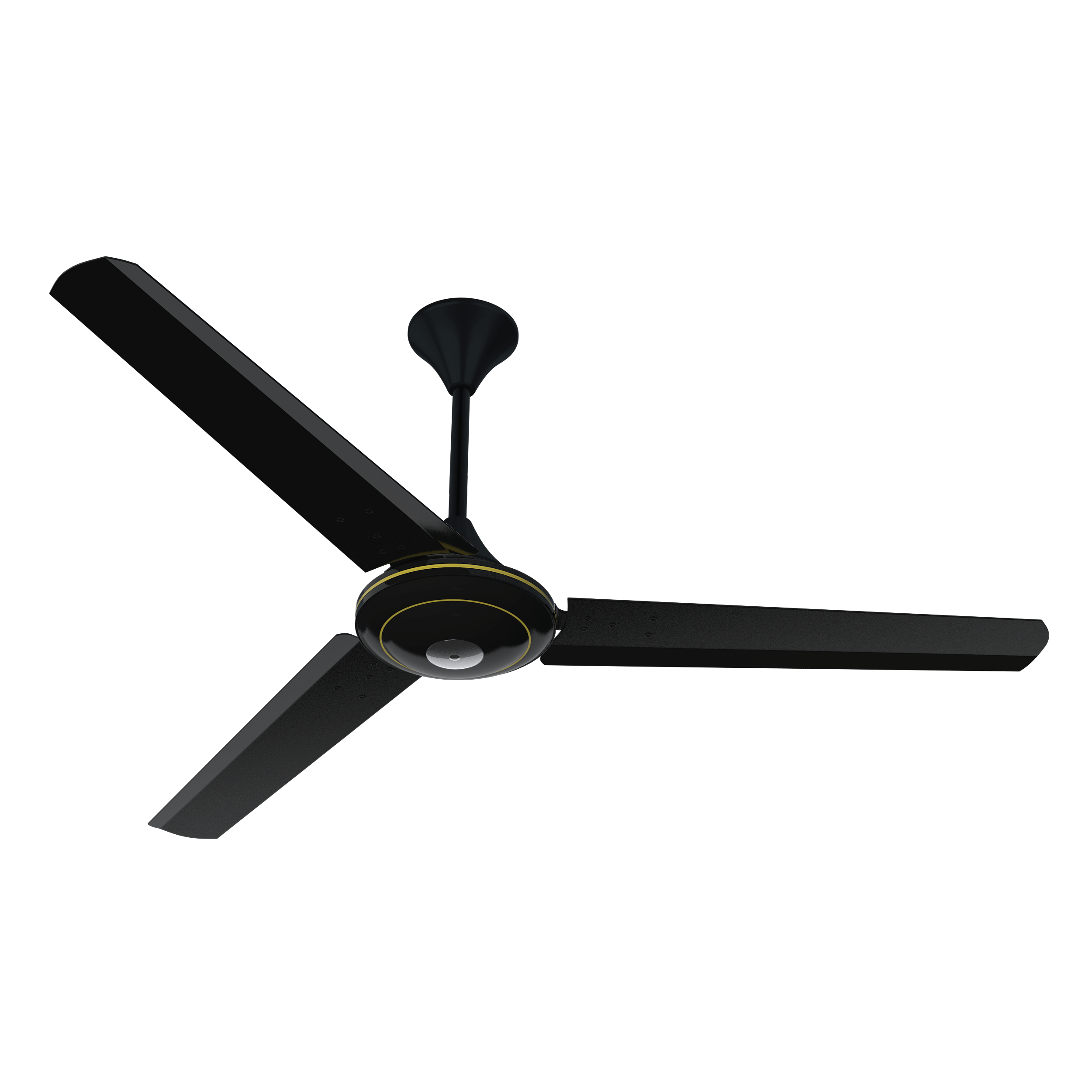 "Conion Ceiling Fan Florence 56"" 3 Blades (Oxide Black)"