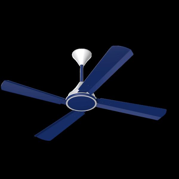 Conion Ceiling Fan Signature 56\'\' 4 Blades (Sparking Blue) - Best ...