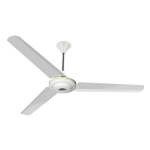 "Conion Ceiling Fan Florence 56"" 3 Blades (Sterling White)"