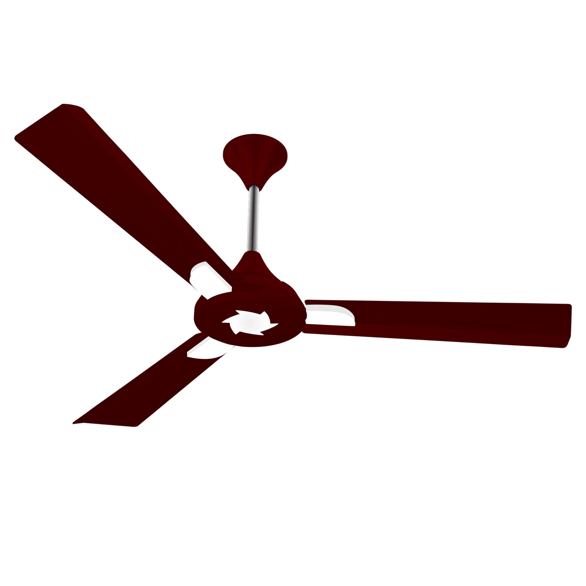 "Conion Ceiling Fan Sigma 56"" 3 Blades (Brilliant Maroon)"