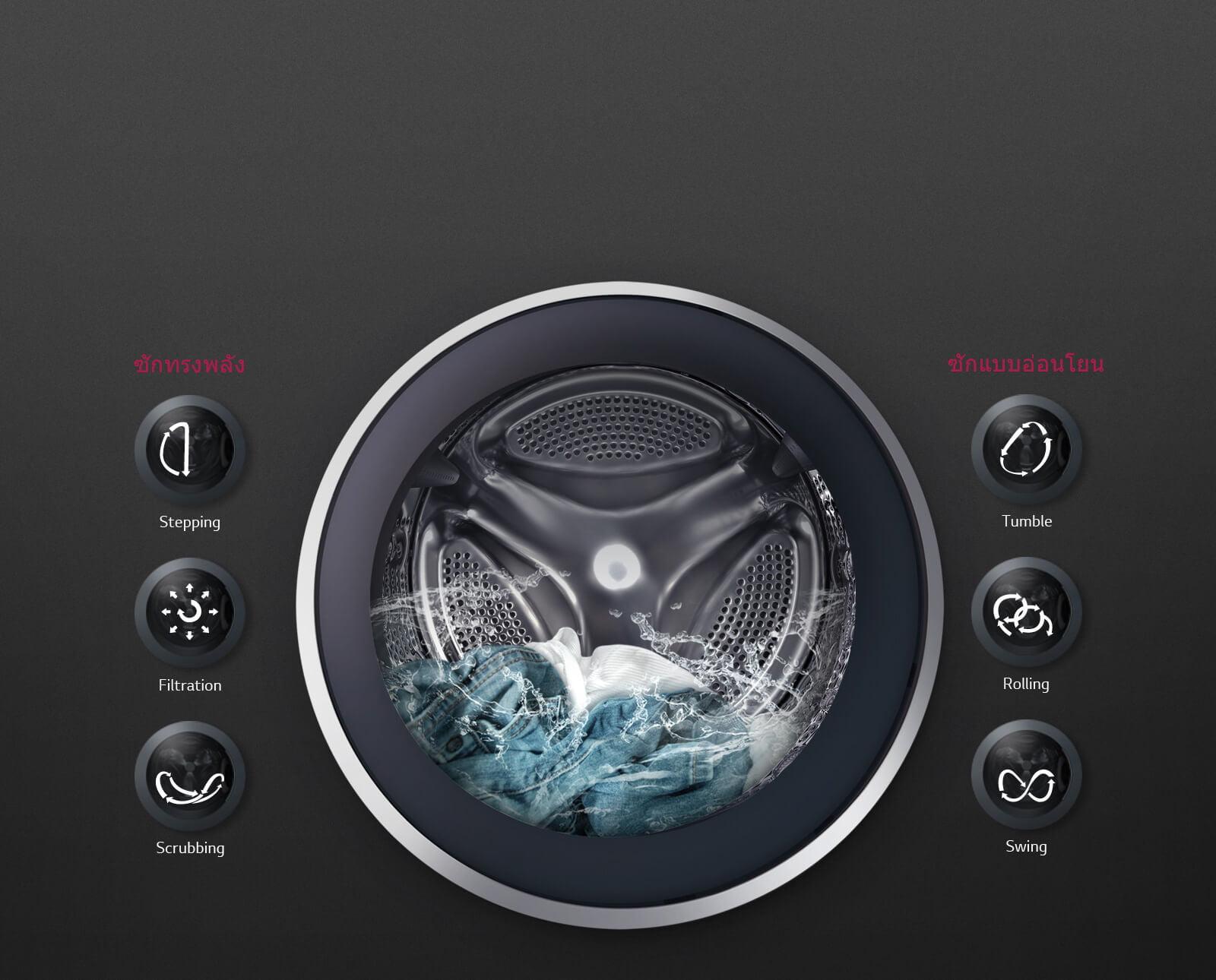 G FM1208N6W 6 Motion DD technology