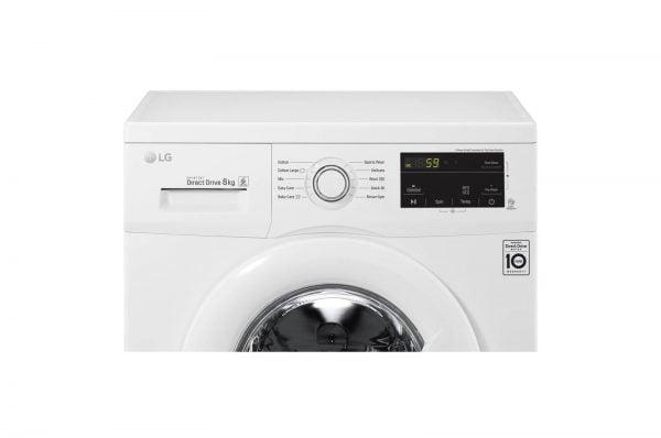 LG Washing Machine FM1208N6W font