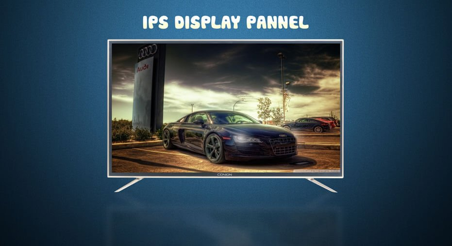 BIGGER AND BRIGHTER IPS DISPLAY