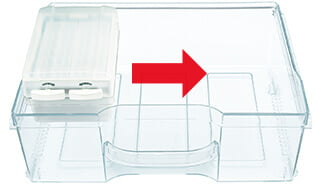 Movable tray