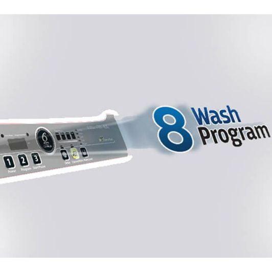 8 WASH PROGRAMS