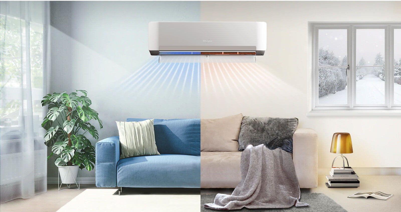Hot-and-CoolReversible-Air-Conditioner