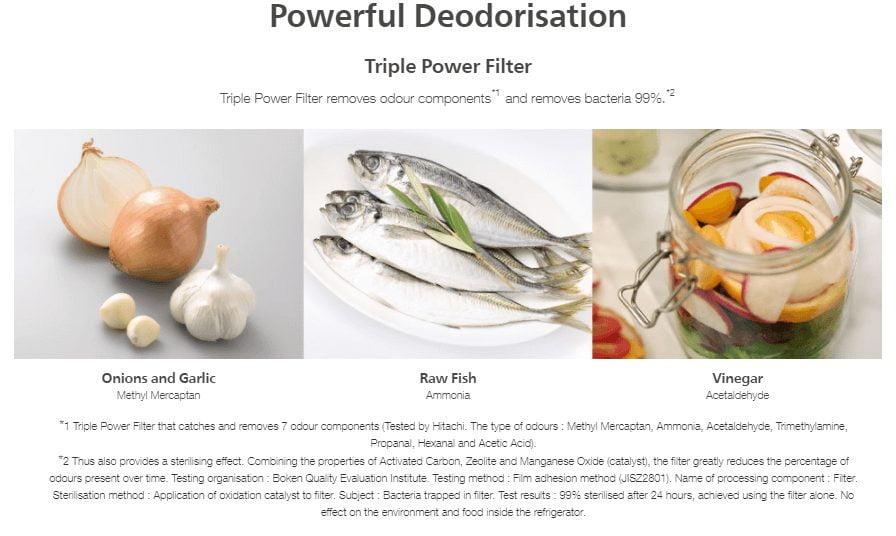 Powerful Deodorisation