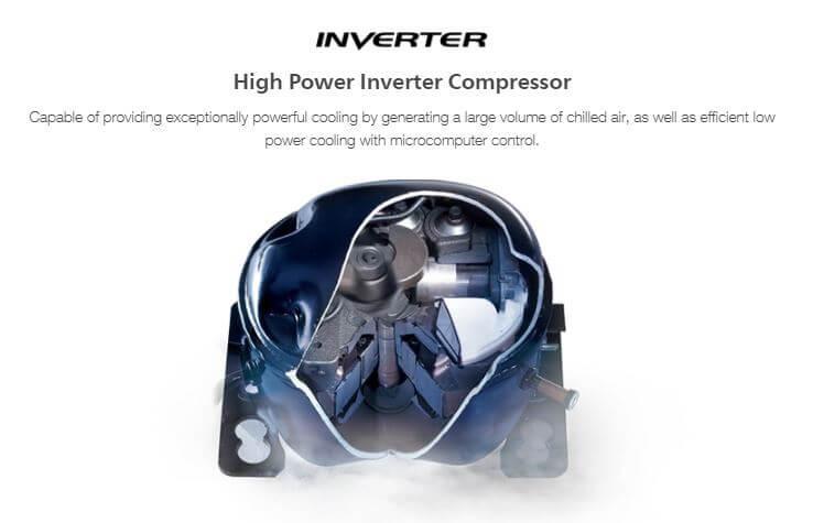 High Power inverter Compressor