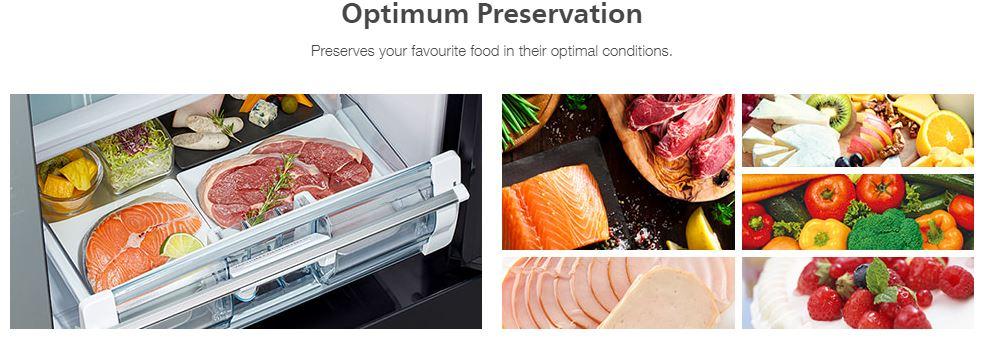 Optimum preservation