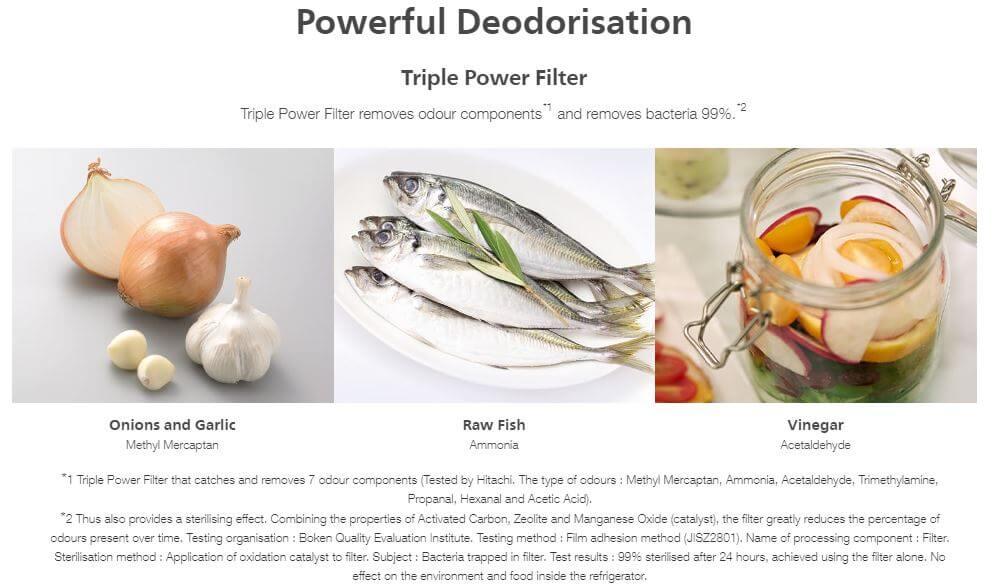 Powerful Deodorization